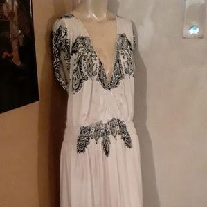 Shoreline maxi dress